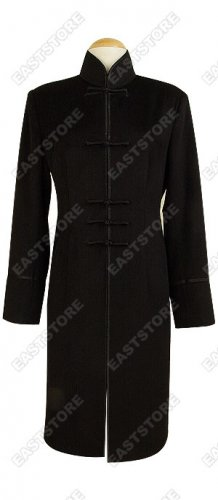 Three Quarter Cashmere/Wool Coat