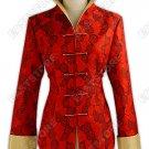 Graceful Rose Brocade Jacket