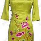 Versatile Embroidered Silk Blouse