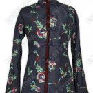 Snug Paillettes Decorated Embroidery Jacket(Quilted)