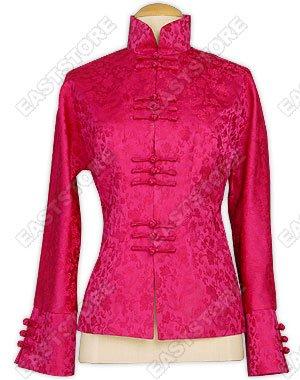 Unique Dragon Pattern Silk Brocade Jacket