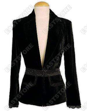 Stylish Silk Velvet Jacket