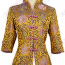 Colorful Fu Gui Flower Brocade Jacket