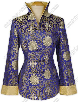 Fu Gui Flower Brocade Jacket