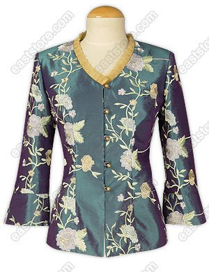 Stylish Floral Embroidered Blouse