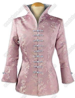 3/4-Length Sleeves Floral Brocade Jacket