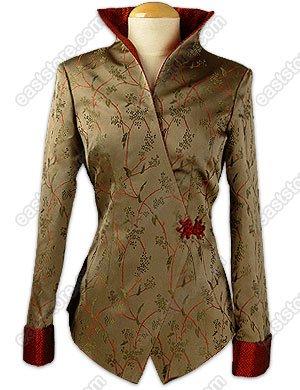 Feminity Vine Brocade Jacket