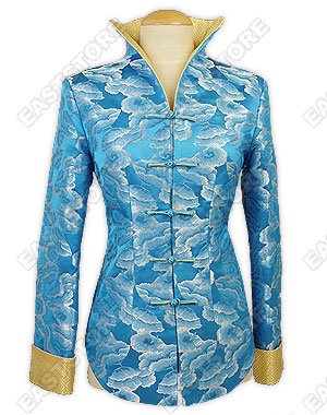 Leaves of Maidenhair Tree Brocade Jacket