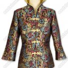 Prosperous Chrysanthemum Brocade Jacket