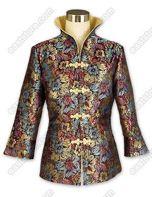 Prosperous Chrysanthemum Brocade Jacket