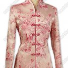 Prosperous Peony Patterned Brocade Jacket