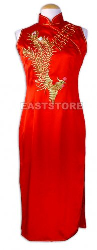 Golden Phoenix and Double Happiness Dress
