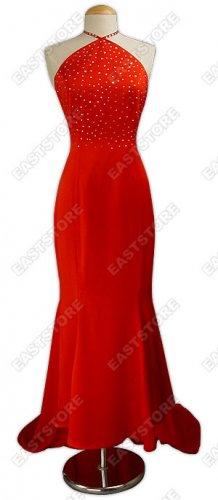 Beads Ironed Silk Wedding Dress