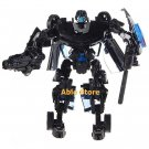 Sport Car Transformer Robot Model (Black)