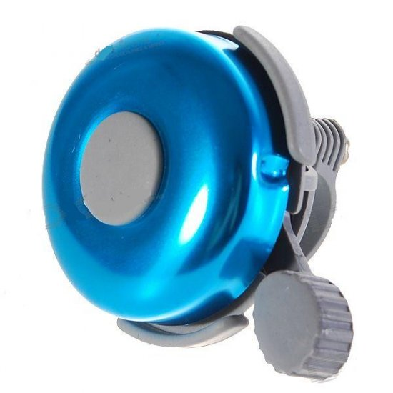 Aluminum Bicycle Mounted Bell (Blue)