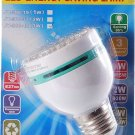 3W 42-LED Energy Saving Light Bulb E27 (100~260V AC)