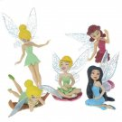 Stylish Disney Fairy PVC Figures Set (5-Figure Pack)