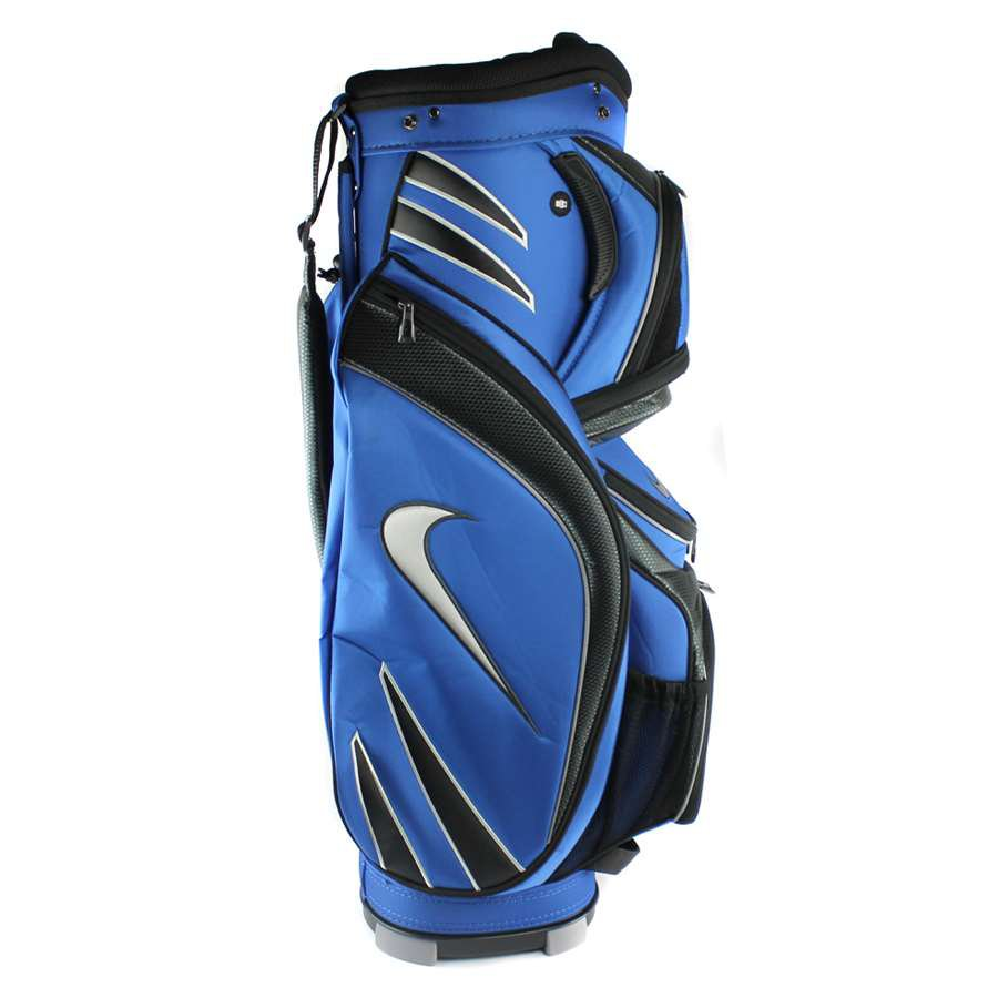 New! Nike Golf M9 Golf Bag Adult Cart Style -14 Way Top Divider Blue w/ Strap **FREE SHIPPING**