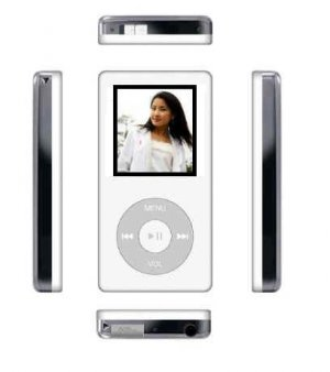 1GB MP4 Rechargeable Video Player + FM Tuner + Text +Voice Recorder + Flash Drive
