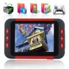8GB - MP6 Player with 3.5 Inch LCD Screen + DVB-T Digital TV