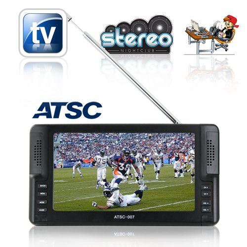 Handheld 7 inch Digital TV for North America (ATSC)