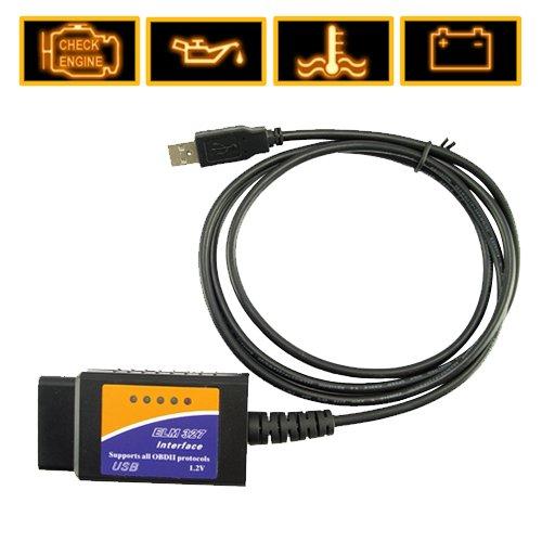 ELM 327 Car Diagnostics USB to VAG-COM Fault Code Cable
