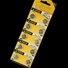 AG8 391A 1.55V Cell Button Batteries 10-Pack