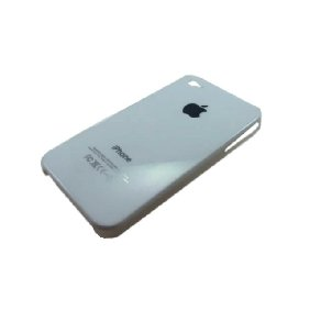 White Hard Plastic Protective Case Cover for iPhone 4/4G - [NV-IPN1205]
