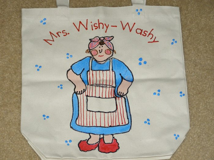 Mrs. Wishy Washy Literacy Bag