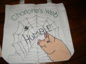 Charlotte's Web Literacy Bag