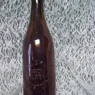 OLD  AMBER  BEER BOTTLE HOWELL & KING CO. UNION BREWERY