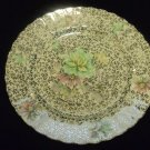 MITTERTEIGH BAVARIA SILVER FLORAL SCALLOPED EDGES PLATE