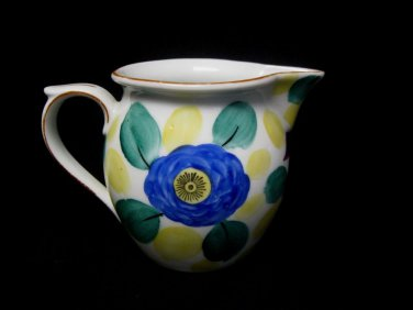Phoenix China Cecho Slavakia Hand-Painted Creamer Milk Pitcher Vintage