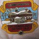 Lions Club Pin D. Boone Homestead 1981 Pa Dist. 14-P Vintage Rare