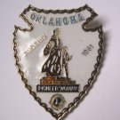 Lions Club Pin Vintage Rare Pioneer Women Phoenix Oklahoma 1981