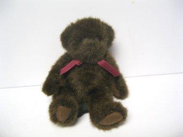 "Russ Teddy Bear Brown Rothschild tush tag 8 1/2"" standing"