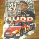 NASCAR Flag Ricky Rudd #21 New  Die Cut Flag