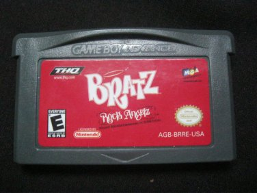 BRATZ ROCK ANGELZ *  GAME BOY ADVANCE *  RATED E EXCELLENT COND.