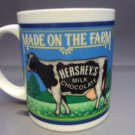 Hershey's Milk Chocolate Cup Mug 1993 Cow on The farm