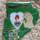 "Lions Club Pin Lion  ""Touch a Life With Hope"" Penna. District 14H 1980-1981"
