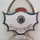 Lions Club Pin Vintage Rare  1979 Gateway to the West Dist. 26A1