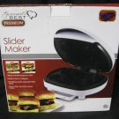 Slider Maker Gourmet's Best Premium Makes 4 Mini Burgers No Flipping  Electric