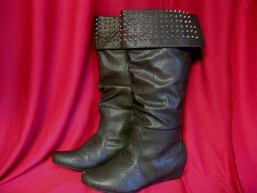Boots Sz 9 Womens Ladies Brown