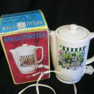 Brewmaster Instant Coffee or Tea Pot Table Top Electric Works Vintage