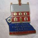Vintage Lions Club Pin Nation's First Capital York PA District 14 C tack Back