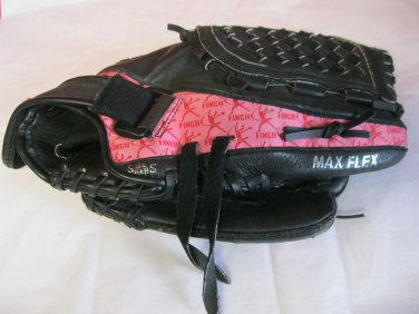 "Mizuno 12""  GPP 1209D Pink & Black Finch Prospect Series Softball Glove RH Throw"