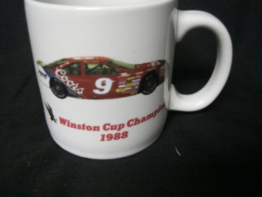 Bill Elliott NASCAR 1988 CHAMPION WINSTON CUP SERIES COFFEE CUP Coors