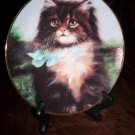 Cat Collector Plate, Far From Home