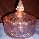Antique Pink Candy Dish
