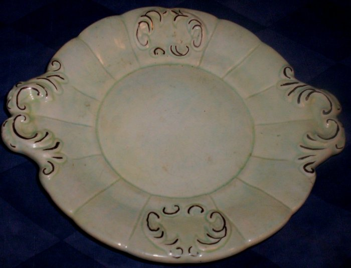 Small Antique Plate